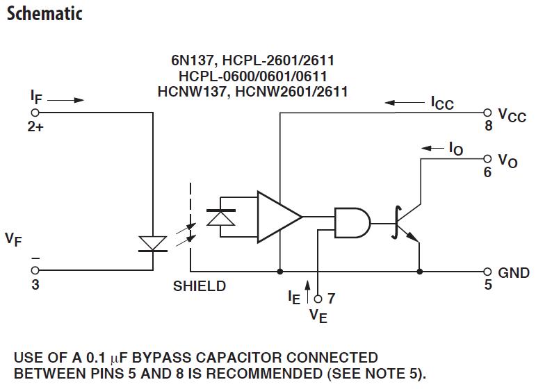 6N137 schematic
